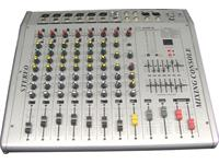 MIXER POWERED 8 CHANNEL 2x250W OUTPUT [AMP8]